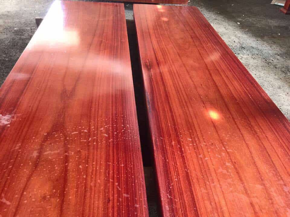 Nét đẹp thẩm mỹ của gỗ hương