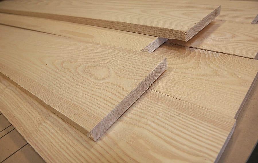 Màu sắc và vân gỗ tinh tế của gỗ ASH