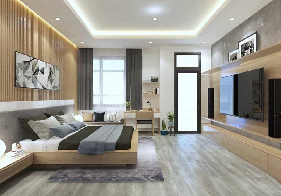 Mẫu thiết kế nhà 6x10m 2 tầng