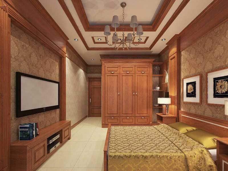Thiết kế phòng ngủ ấm áp và thư giãn