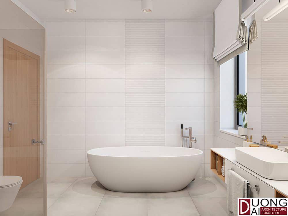 Thiết kế phòng tắm hài hòa với thiên nhiên
