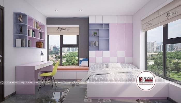 Thiết kế phòng ngủ với không gian mở thông thoáng chuẩn phong thủy