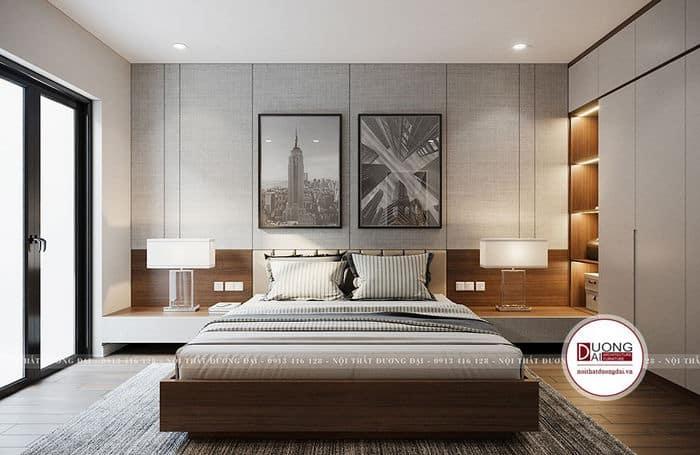 Phòng ngủ màu trắng thanh nhã là xu hướng được rất nhiều gia chủ yêu thích