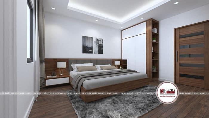 Thiết kế nội thất hiện đại và cá tính rất phù hợp với tông màu trắng