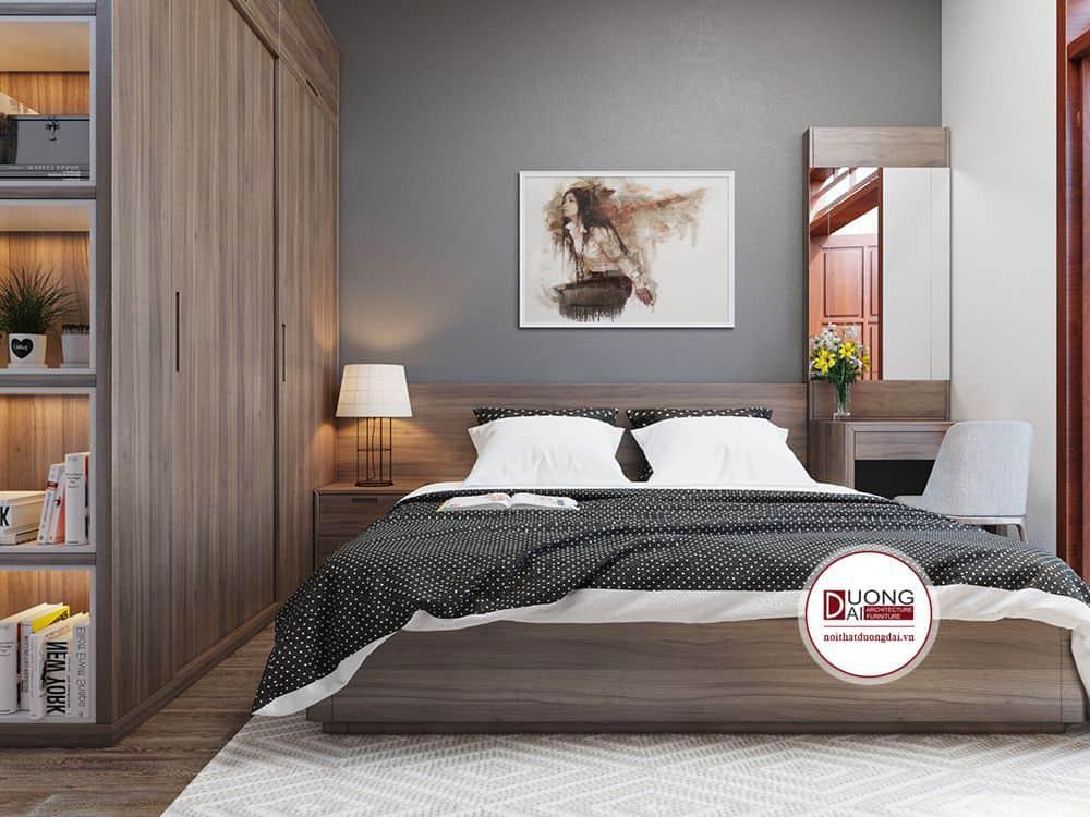 Mẫu thiết kế đầy cá tính và sang trọng với nội thất gỗ tự nhiên
