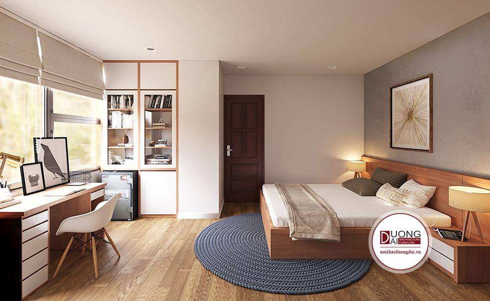 Thiết kế phòng ngủ cho bé với nội thất tiện nghi