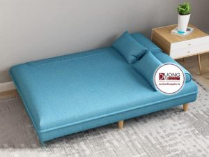 Sofa Giường Nỉ Fortney 1m8 | Chất Liệu Nỉ Mềm Mại Và Êm Ái