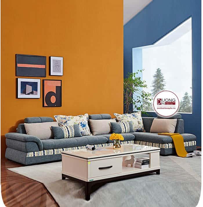 Sofa Nỉ Chữ L- SKYGN1017