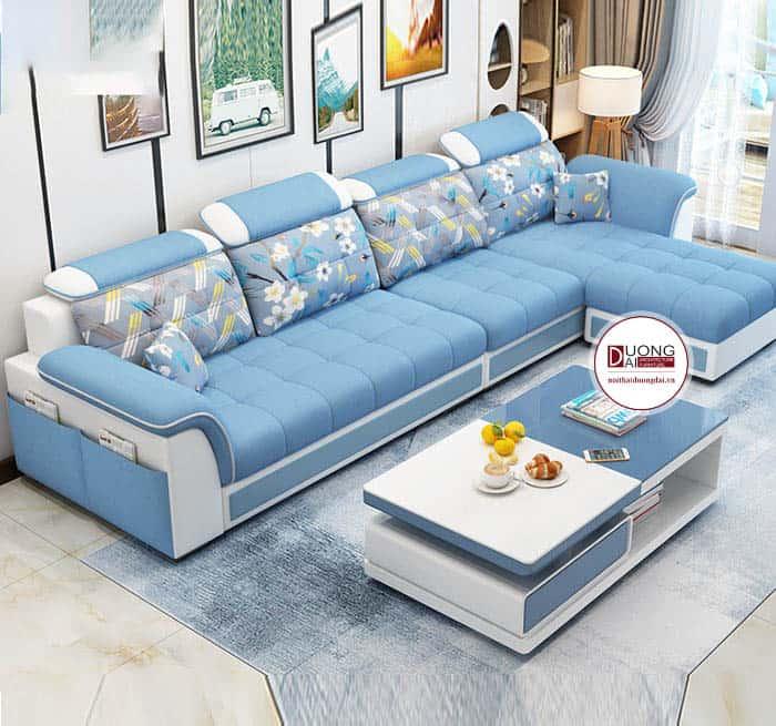 Sofa Nỉ Đẹp Hiện Đại- SKYGN1021