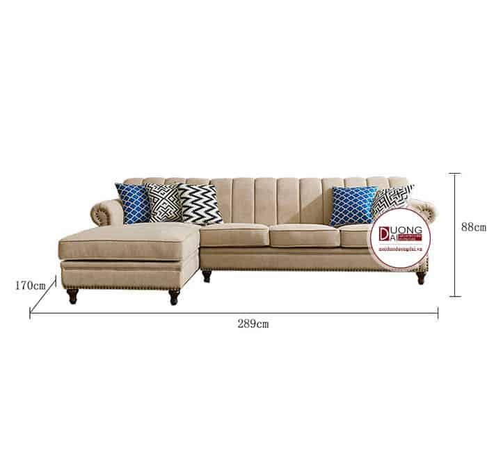 Sofa Nỉ Góc- SKYGN1016