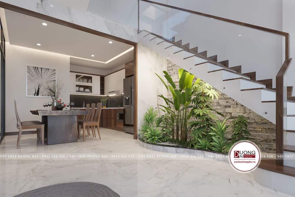 Thiết kế nhà bếp nhỏ với phong cách hiện đại
