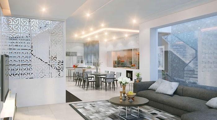 thiết kế nhà đẹp 8x20m