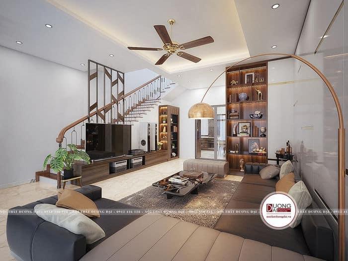 Thiết kế nội thất biệt thự ấn tượng với phong cách hiện đại