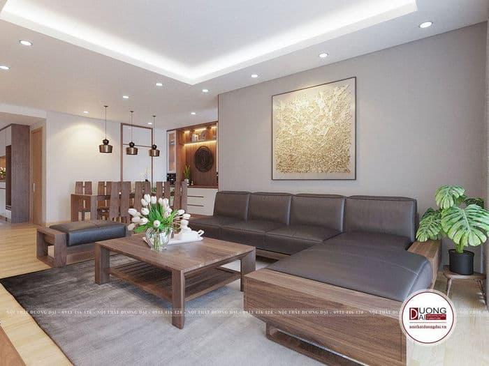 Thiết kế nội thất chung cư 130m2 đẹp xuất sắc nhất năm