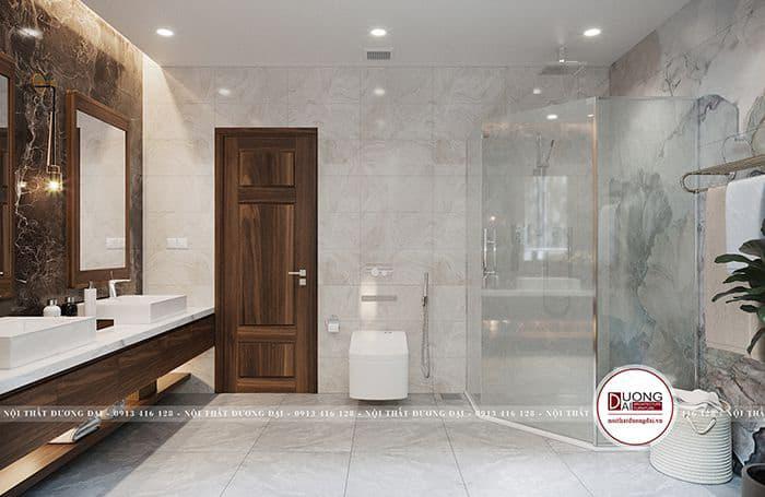 Phòng tắm kính xa hoa và cao cấp