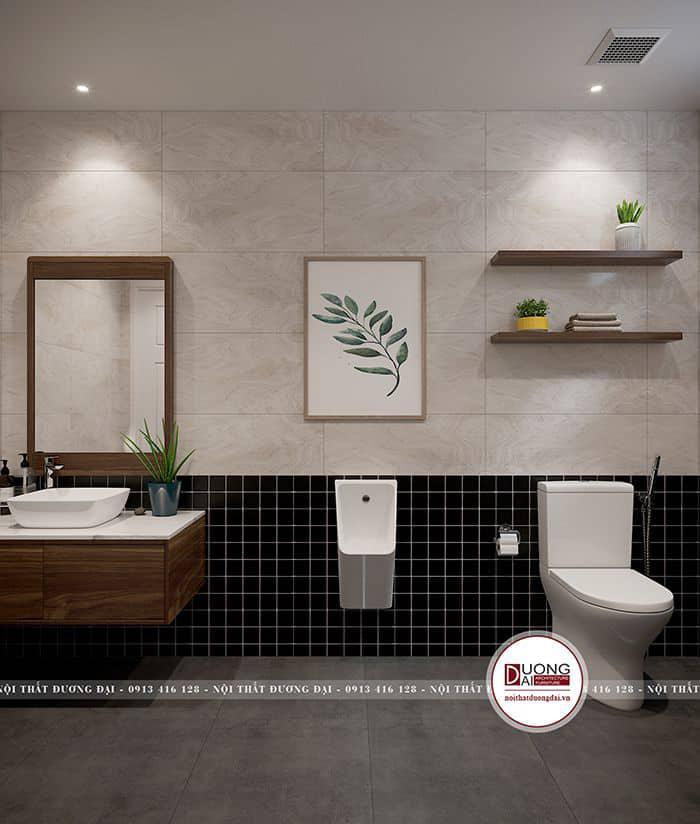 Gạch cho phòng tắm với màu sắc trang nhã và cá tính