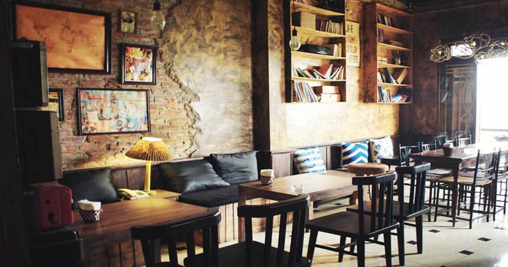 Thiết kế quán cà phê mang nét hoài cổ
