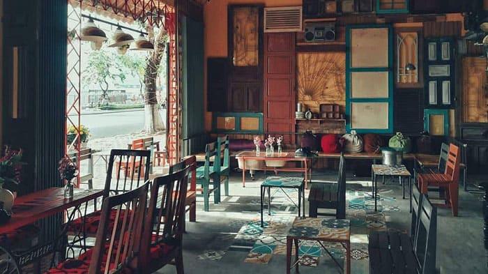 Mẫu thiết kế quán cafe mang đậm nét Vintage đầy thi vị