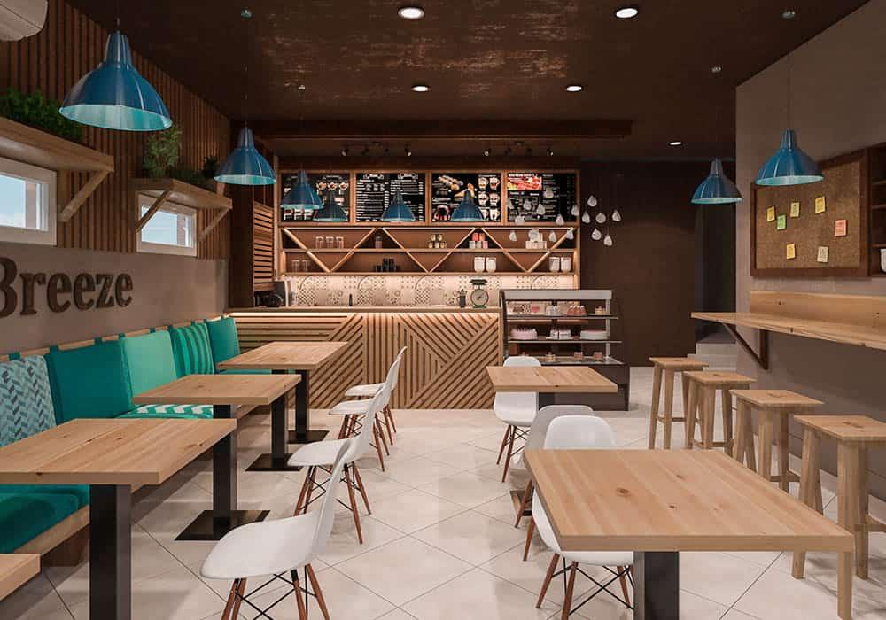 Quán cafe nhỏ xinh với diện tích 30m2