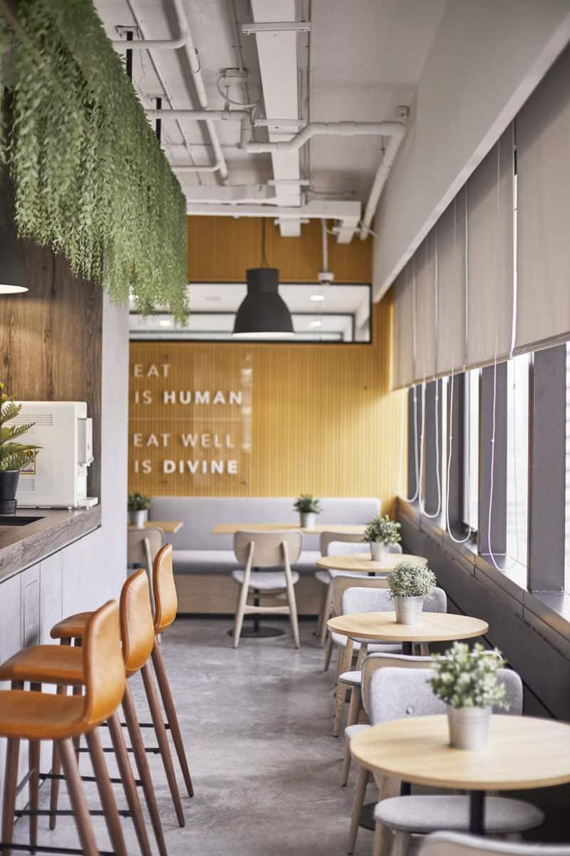 Thiết kế quán cafe chung cư nhỏ xinh đầy tiện nghi