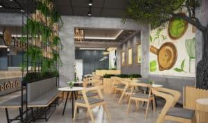 Thiết Kế Quán Café 20m2 Với Nội Thất Ấn Tượng, Cuốn Hút