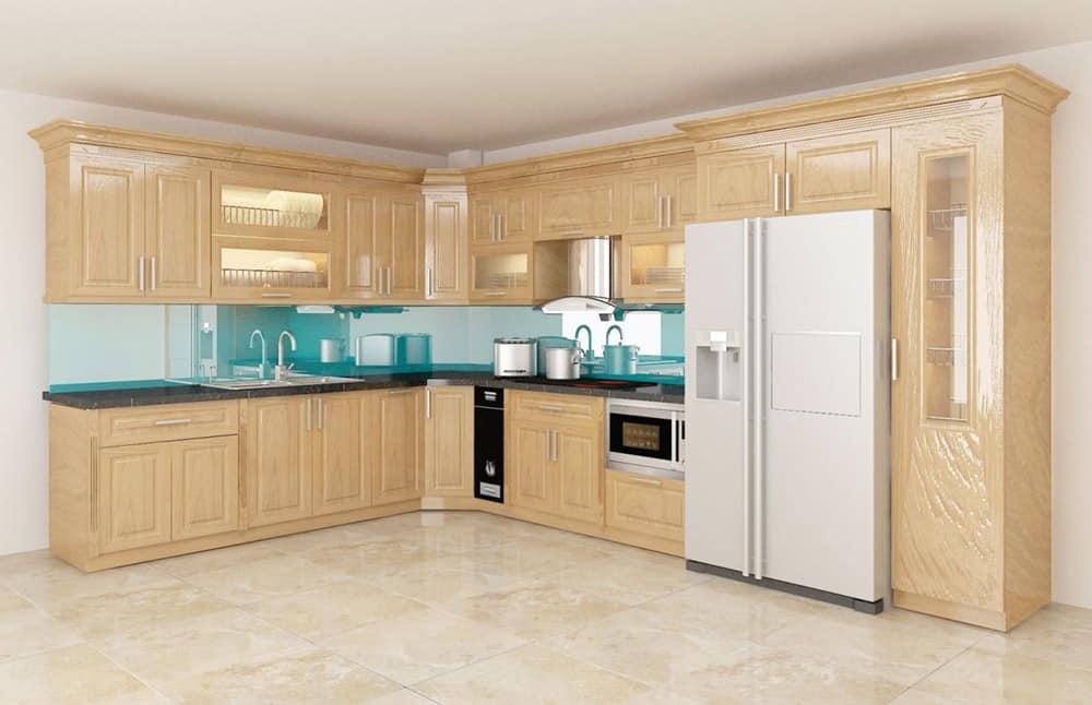 Tủ bếp chất lượng cao sẽ có độ bền lâu đến hàng chục năm
