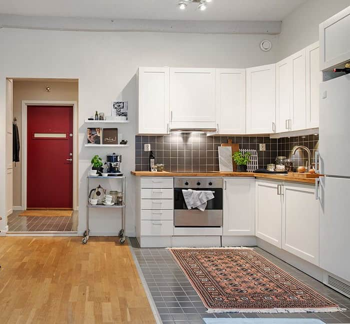 Bếp phong cách Scandinavian |15+ Ý tưởng nhà bếp hiện đại ấm áp