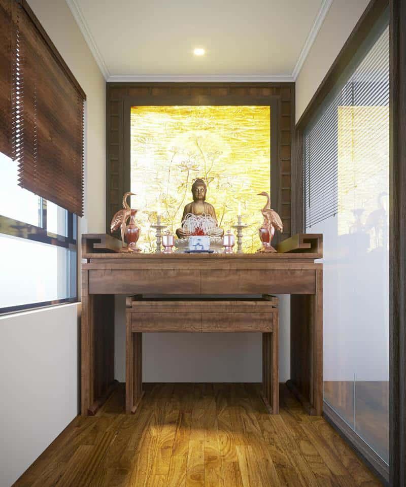 Mẫu bàn làm từ gỗ óc chó trang nhã và tinh tế
