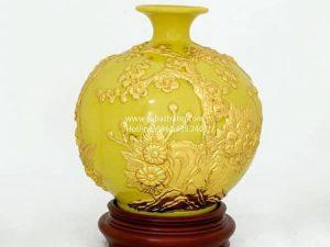 Bình Hút Lộc Thuận Buồm Xuôi Gió Dát Vàng 22cm - SBT120081