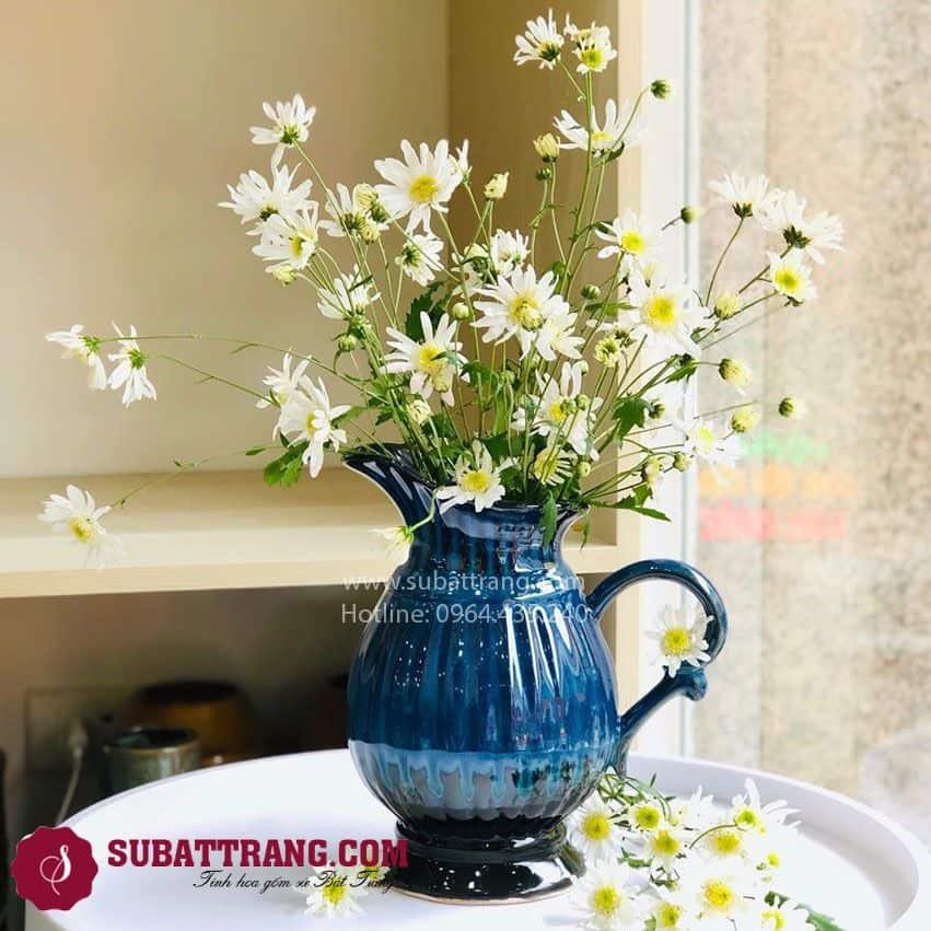 Bình Sữa Gân Bát Tràng - SBT30146