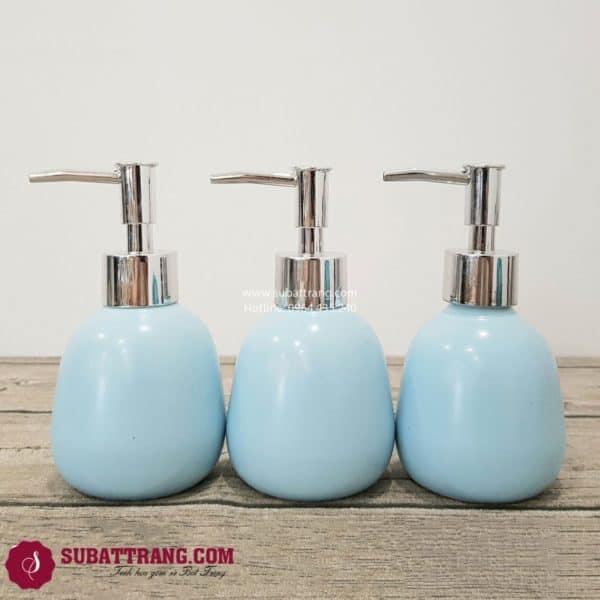 Bộ 3 Bình Dầu Gội Sữa Tắm Dáng Trứng - SBT110084