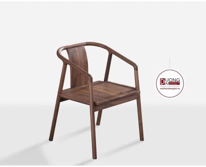 Thiết kế ghế ngồi gỗ óc chó đầy ấn tượng