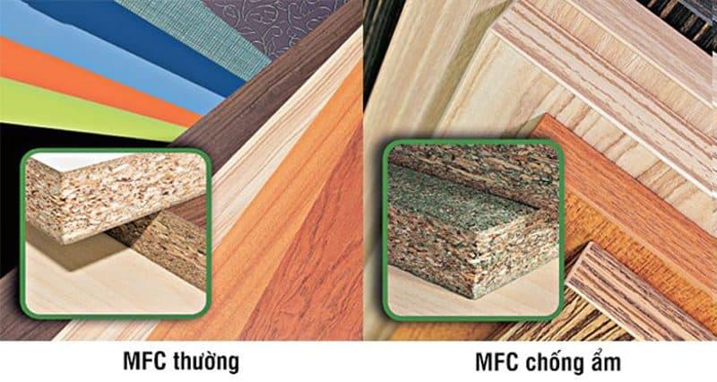 Sự khác biệt màu sắc lõi của 2 loại gỗ