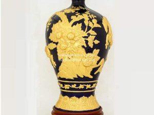 Mai Bình Mã Đáo Thành Công Dát Vàng 50cm - SBT120087