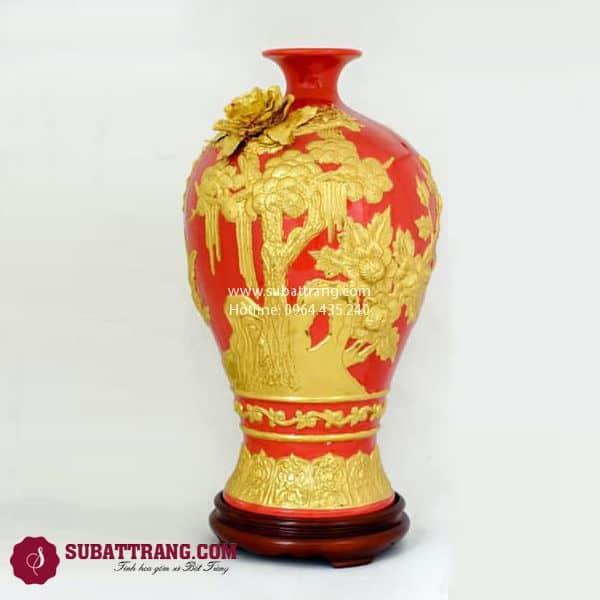 Mai Bình Thuận Buồm Xuôi Gió Dát Vàng 50cm - SBT120088