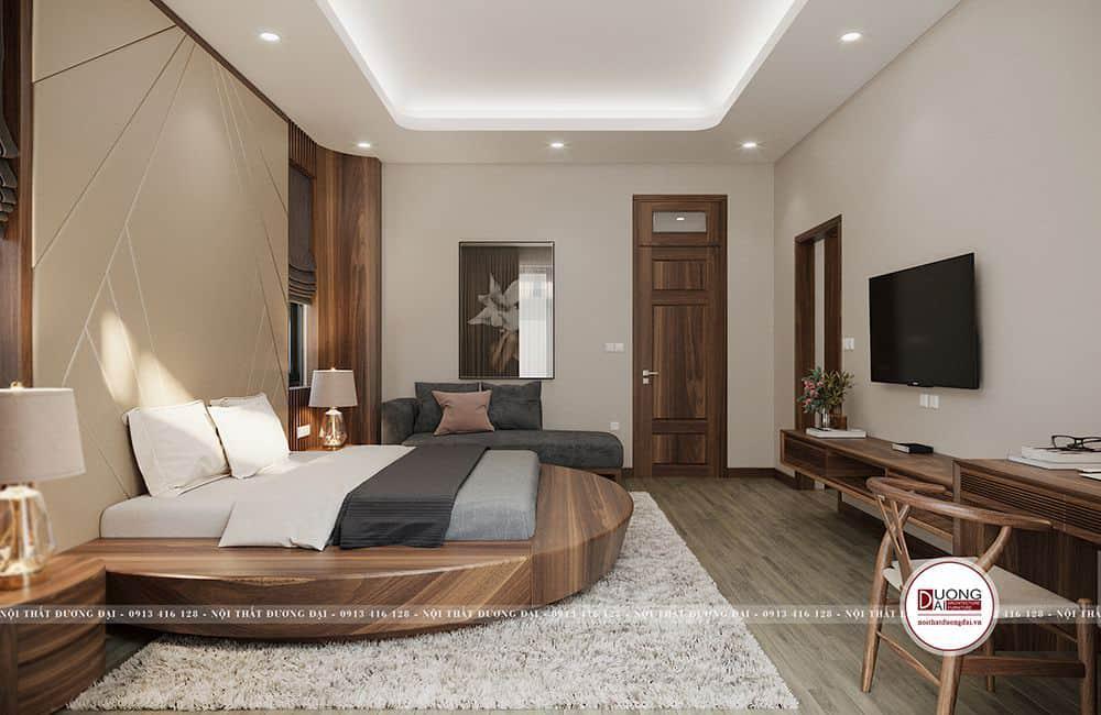 Thiết kế giường mang đến nét cá tính và rất độc đáo