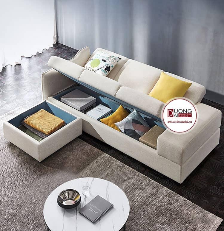 Sofa đa năng có ngăn đựng đồ thông minh, tối ưu diện tích