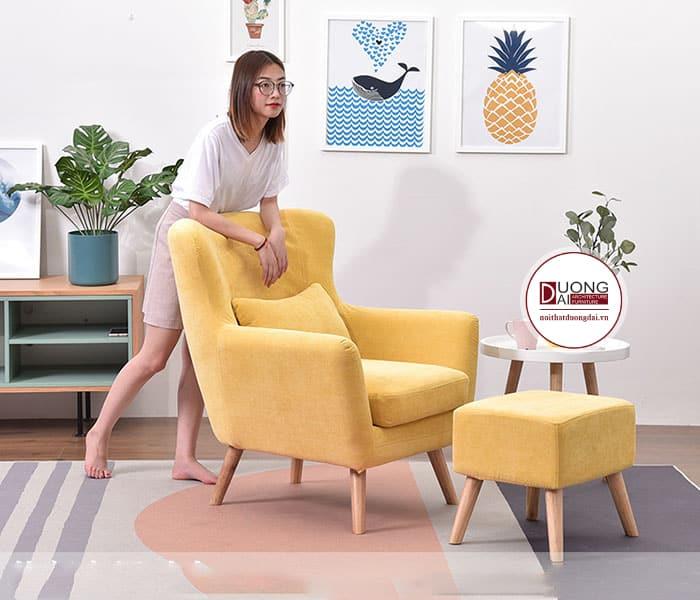 Sofa thư giãn phù hợp cho người sống độc thân
