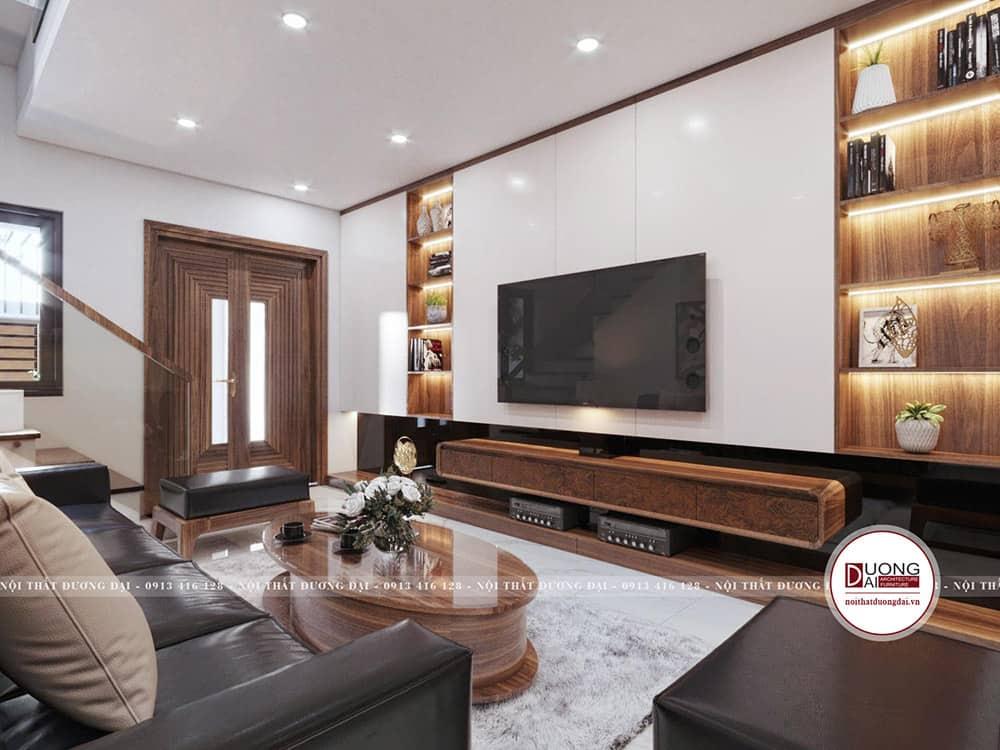 Phòng khách mang nét đẹp ấn tượng trong diện tích nhỏ