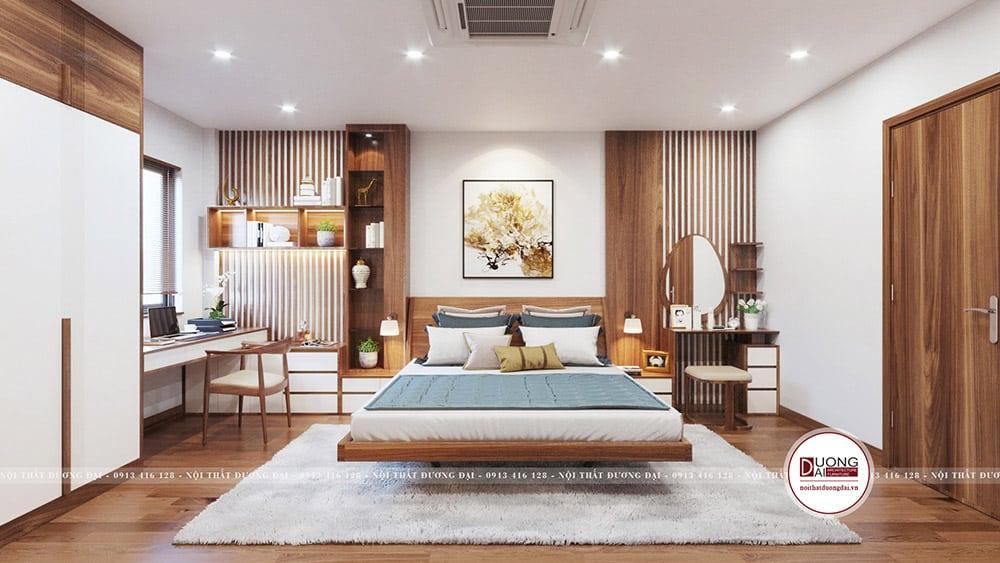 Phòng ngủ Master sang trọng và đầy thư giãn