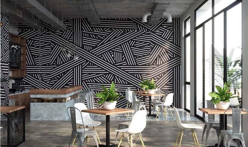 Mẫu quán cafe với tầm nhìn rộng và đẹp