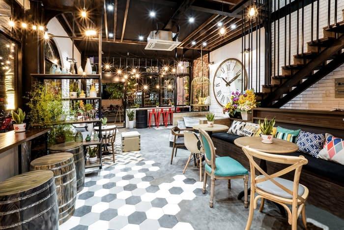 Mẫu quán cafe sang trọng và hiện đại cho giới trẻ