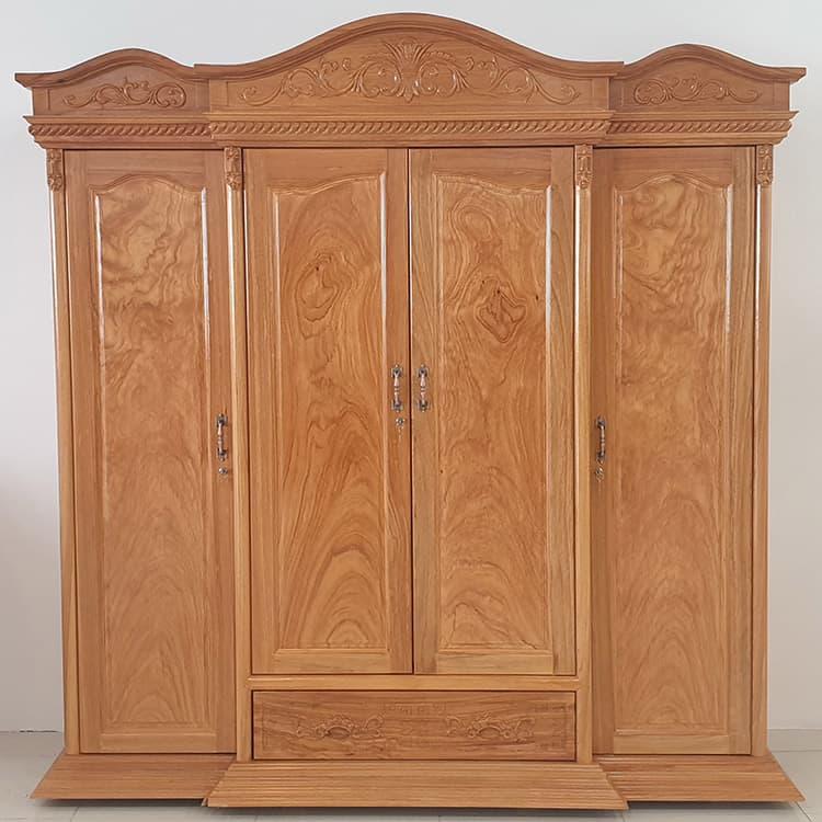 Tủ quần áo đẹp từ gỗ tự nhiên