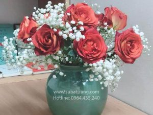 Vò Thấp Men Hỏa Biến Bát Tràng - SBT30177