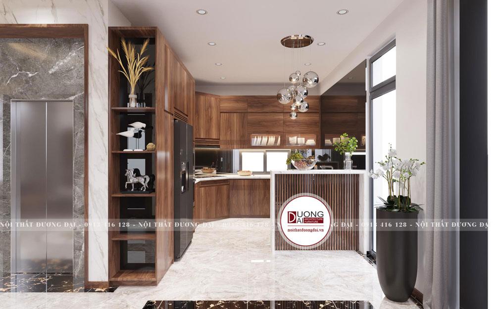 Phòng bếp siêu ấn tượng