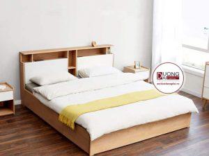 Giường gỗ tự nhiên có ngăn kéo - ATFGCN1004