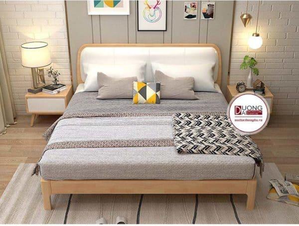 Giường ngủ gỗ sồi mỹ - ATFGTN2002