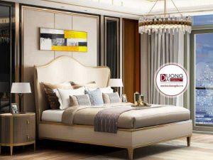 Giường Ngủ Màu Trắng Đơn Giản Và Siêu Hiện Đại Cho Phòng Ngủ