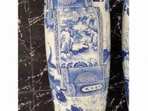 Lộc bình cuốn thư sơn thủy Bát Tràng - 70074