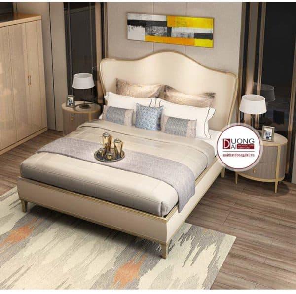 Mẫu giường ngủ tân cổ điển - ATFGTCD3001